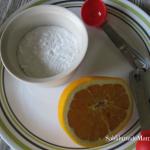 Mascarilla Natural de Bicarbonato y Naranja