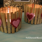 Fáciles Candelabros de San Valentín {Hazlo Tu Misma}