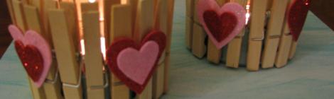Fáciles Candelabros de San Valentín {Hazlo Tú Misma}