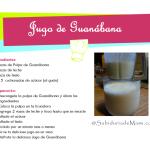 Delicioso Jugo Natural de Guanábana