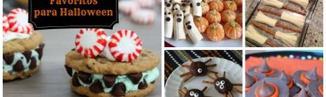 5 Pasabocas Favoritos para Halloween