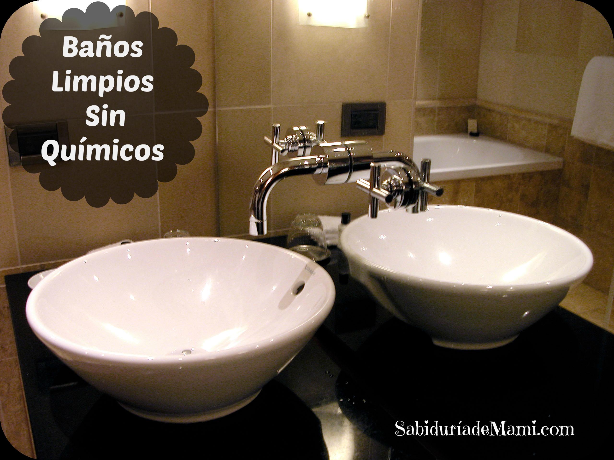 Que Es Un Baño Quimico:Limpia los Baños sin Químicos en 1, 2, 3