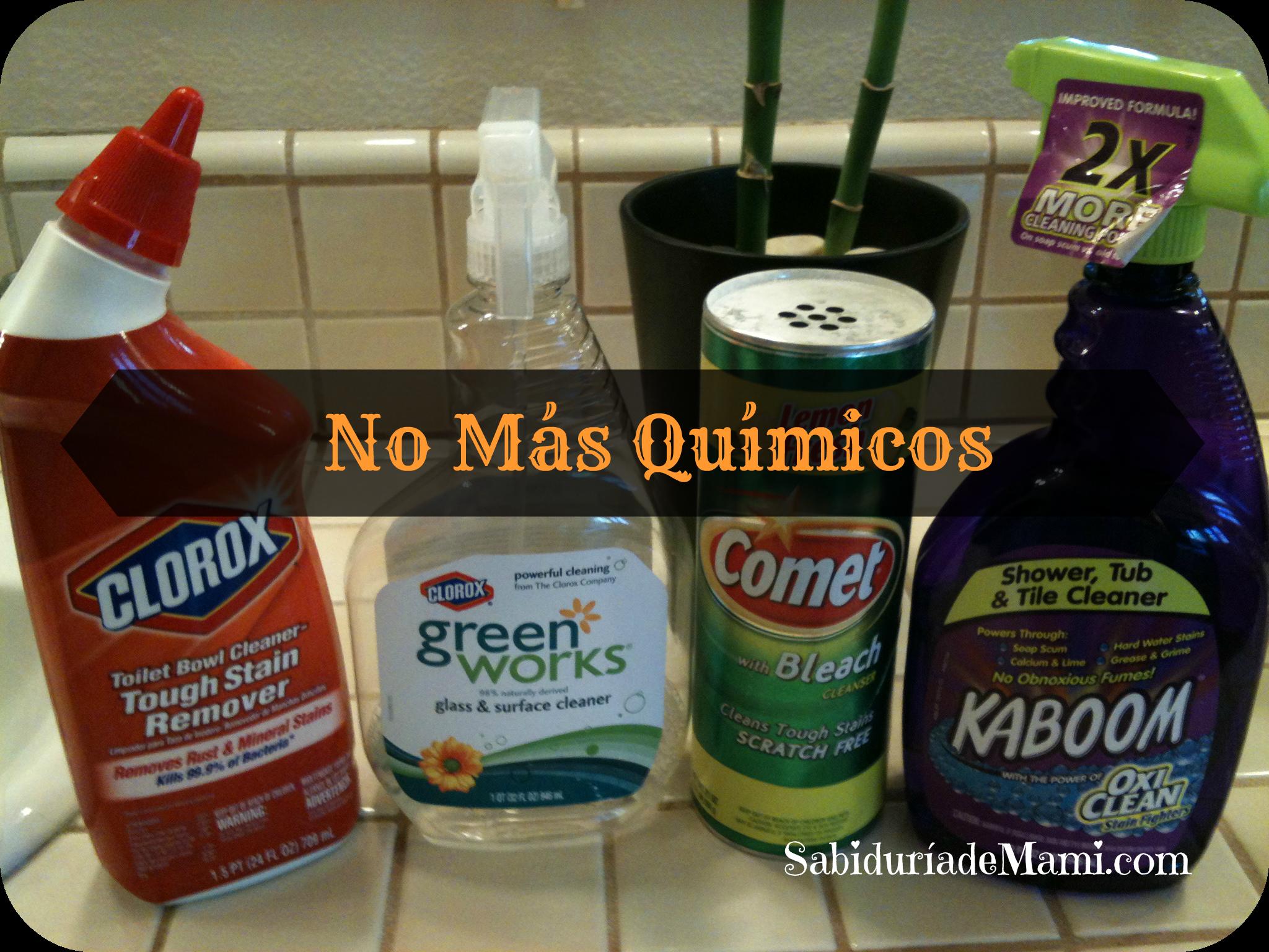 10 productos qu micos que ya no uso para limpiar los ba os for Productos de bano