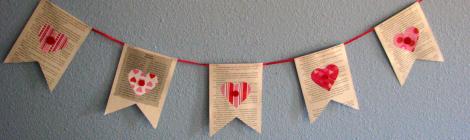 Banderines de Corazones {Házlo Tú Misma}