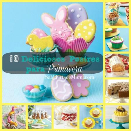 041014 10 Deliciosos postres para primavera