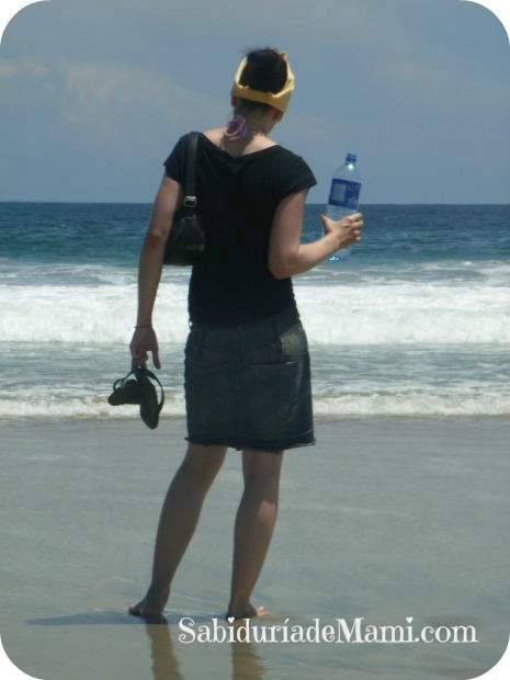 Mujer agua