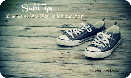 SabiTips Olor en los zapatos 032015
