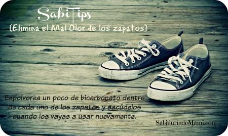 SabiTips Olor en los zapatos 032215