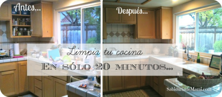 Cocina limpia collage palabras 120315