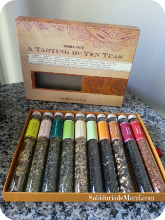 Tasting of teas