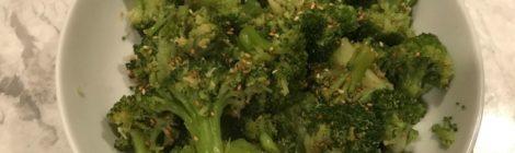 Delicioso Brócoli con ajonjoli
