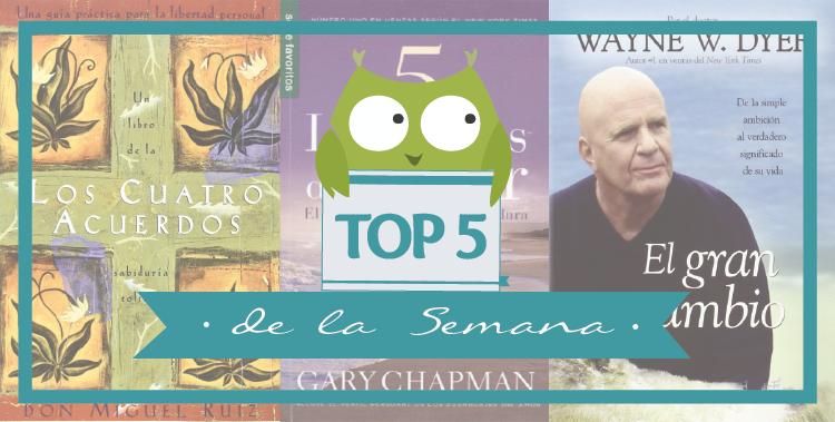 """Top 5 de la Semana  """"Mamás Lectoras"""""""