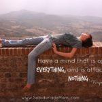 Lunes de Sabiduría – Ten una mente