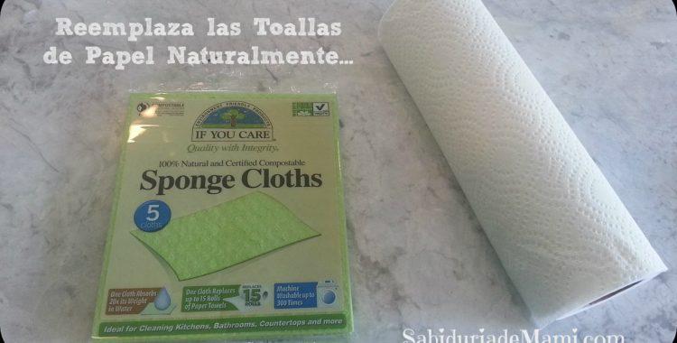 4 SabiTips - Dile Adios a las Toallas de papel en tu hogar